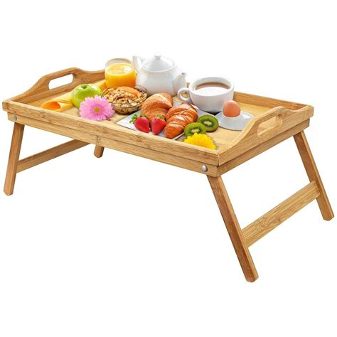 Bed Table Tray With Legs